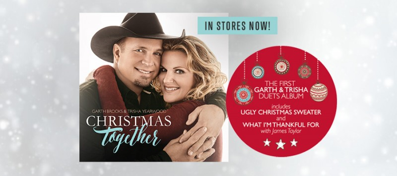 GARTH & TRISHA CHRISTMAS ALBUM RELEASED TODAY