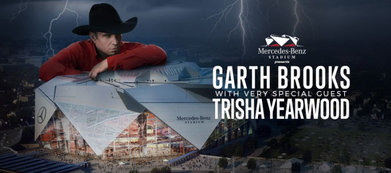 GARTH BROOKS SELLS OUT MERCEDES-BENZ STADIUM