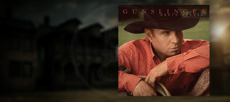 GARTH BROOKS' NEW GUNSLINGER RELEASED TODAY