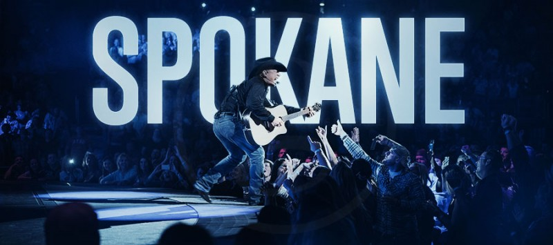 GARTH IS COMING TO SPOKANE!