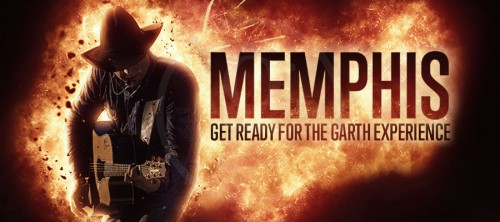 GARTH IS COMING TO MEMPHIS!