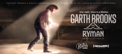 GARTH PERFORMS FIRST EVER RYMAN AUDITORIUM CONCERT